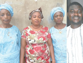From left: Mrs Esther Adekunle, Mrs Kemi Ashiru, Mrs Opeoluwa Taiwo and Mr Adewale Odufoye
