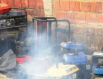 Image result for generator fumes