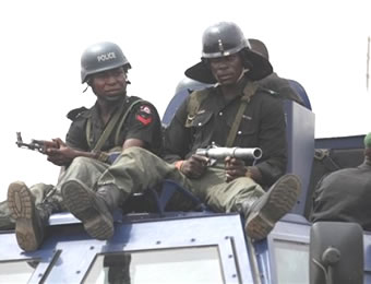 Security beefed up at Govt House, other locations in Benin