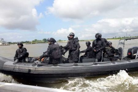 Navy arrests three suspects, intercept 1,209 bags of smuggled rice