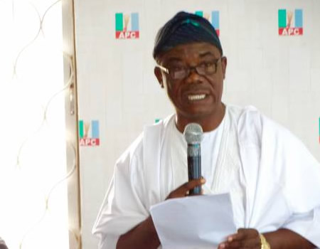 Ondo 2020: APC group collapses structure for Kekemeke