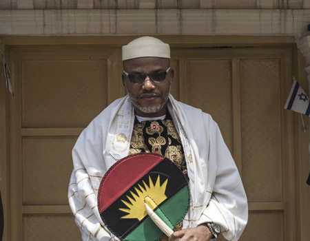 Absence of lawyer stalls Nnamdi Kanu's trial