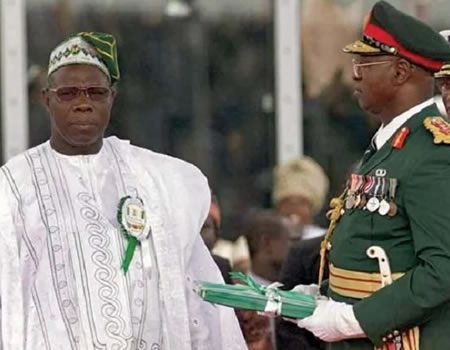 Image result for Obasanjo 1999