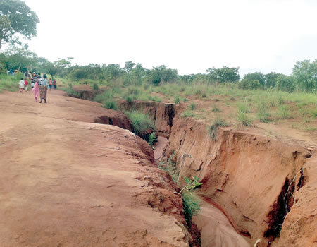 Work Commences on FG Erosion Control Project in Kogi-Site engineer