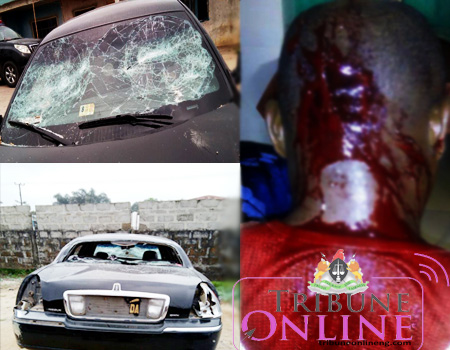 Crisis in ondo state as hoodlums destroys traditional