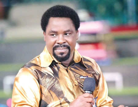 Nigeria's 2019 general election: Listening to Prophet TB Joshua