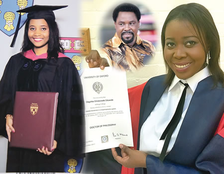 How TB Joshua invested over N100m to sponsor students to Oxford