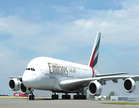 Image result for Emirates returns to Nigeria Feb. 28