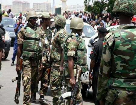 soldiers, MILITARY, Four killed as kidnappers