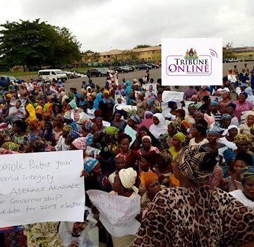 Ogun APC Primaries: Women leaders threaten to storm Abuja naked