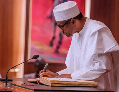 Buhari, to Kyari, Buhari writes Borno