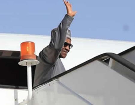 Abeokuta agog as Buhari arrives today