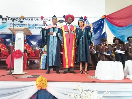 Secrets of our success, by LASU's joint  best graduating students