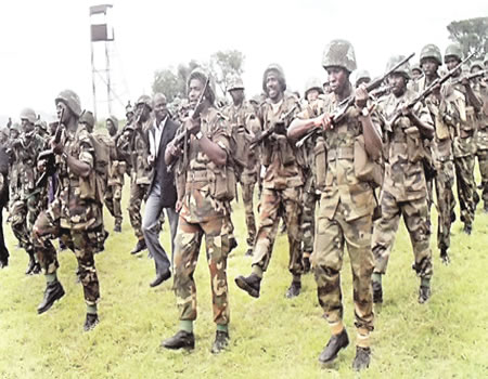 Support the Nigerian Army in addressing its challenges