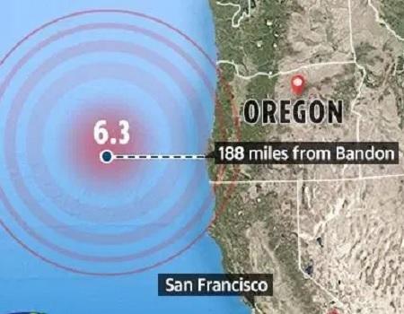 6 4-magnitude earthquake strikes off US coast Tribune Online