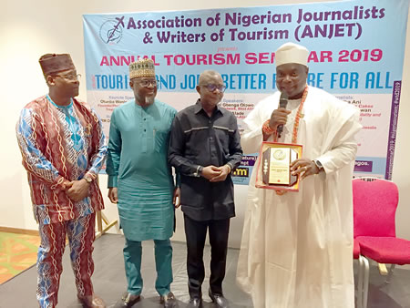 ANJET seminar: Olota of Otta, Olowo, Akinboboye, others task FG on policy-driven tourism development