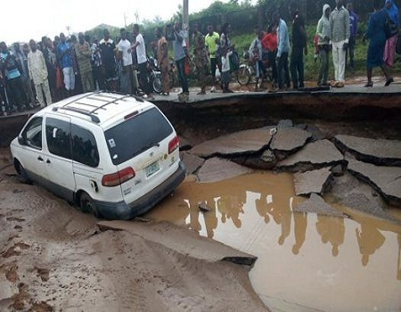 Ekiti residents express worry over delay in reconstruction of collapsed Ureje bridge - NIGERIAN TRIBUNE