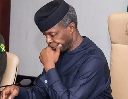 Osinbajo, Anglican Church, RCCG Abuja pray for peace of Nigeria