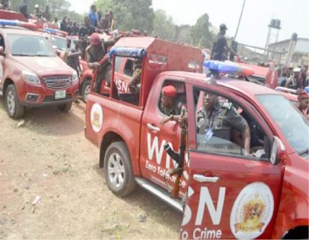 Ondo Amotekun impounds 40 vehicles in night clubs' raid