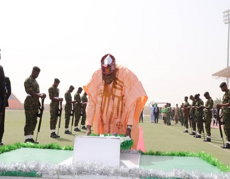 Armed forces remembrance: Gombe gov solicits support for families of fallen heroes - NIGERIAN TRIBUNE
