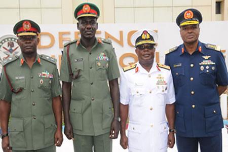 Service chiefs, nigerians
