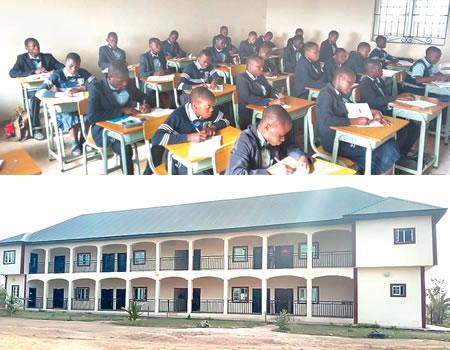 Foundation construct classrooms in Gombe secondary school - NIGERIAN TRIBUNE