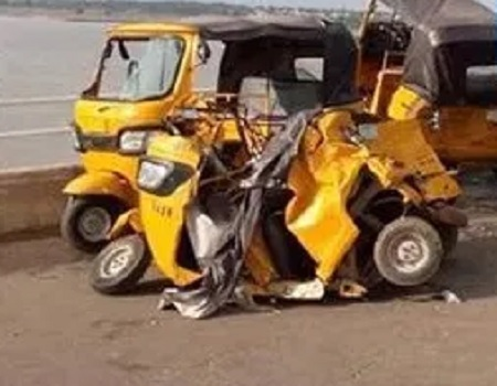 Lagos, Three crushed to death