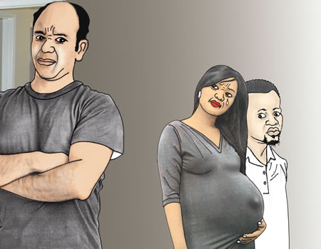 My wife was impregnated by another man while still married