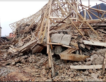 Collapsed building, construction defects, Building collapse