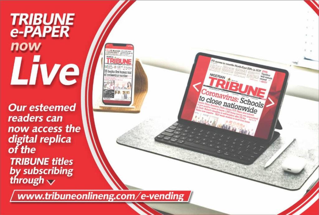 E-Vending, e paper, pdf, e-paper, Tribune
