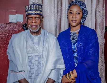 At 65, Customs boss, Hameed Ali takes new wife