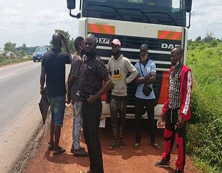 COVID-19: Benue Taskforce intercepts tanker with Northern youths, Motorcycles