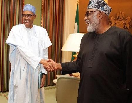 Buhari congratulates Akeredolu on Supreme Court victory