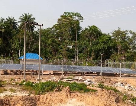 REA lights up two Bayelsa communities with solar hybrid mini-grids