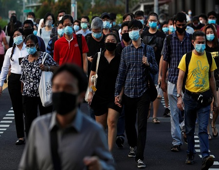Singapore plans coronavirus contact tracing device for all to wear