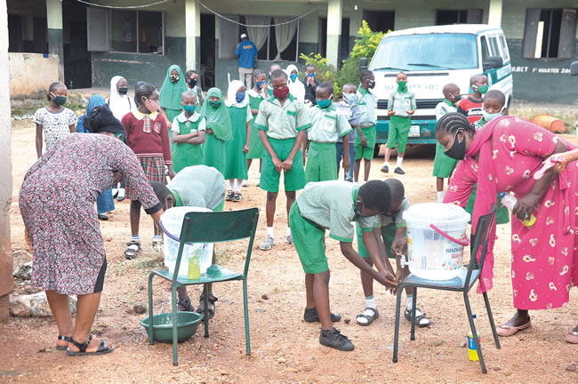 Kwara schools reopen, comply with COVID-19 protocols