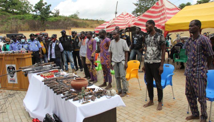seven men who robbed three banks