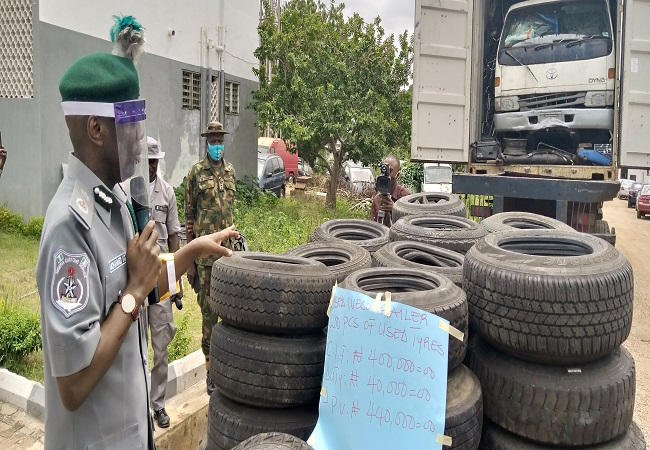 Used tyres account for most road accidents ― Customs