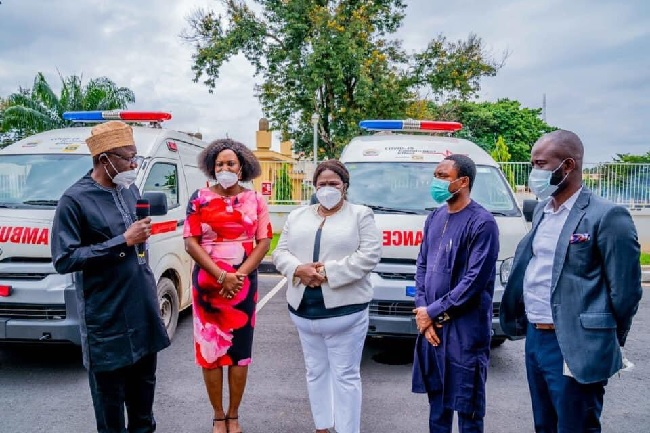 COVID-19: Ekiti govt receives two ambulances from MTN, conducts pilot testing in 4 LGAs
