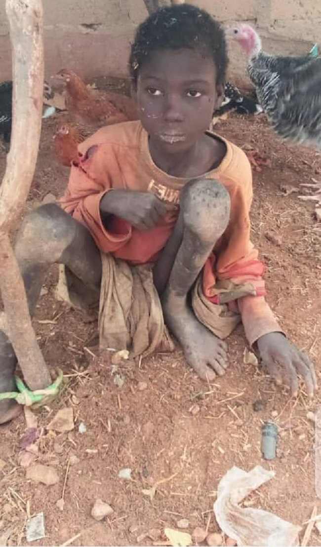 Police charge father of boy chained for two years to court in Birnin Kebbi