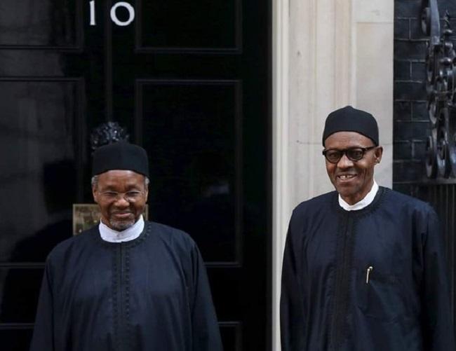 Buhari on Mamman Daura