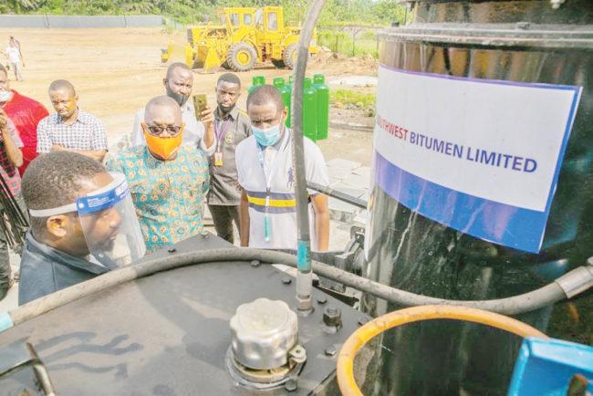 bitumen exploitation