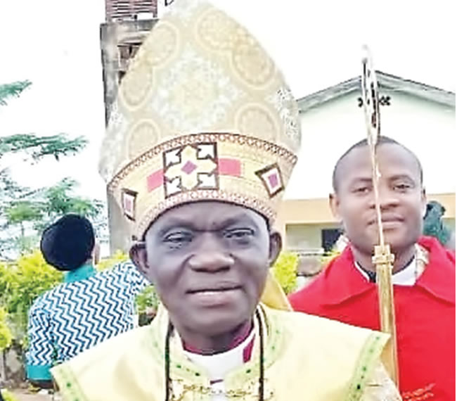 It is sad IDPs have become refugees in their own country —Bishop Taiwo