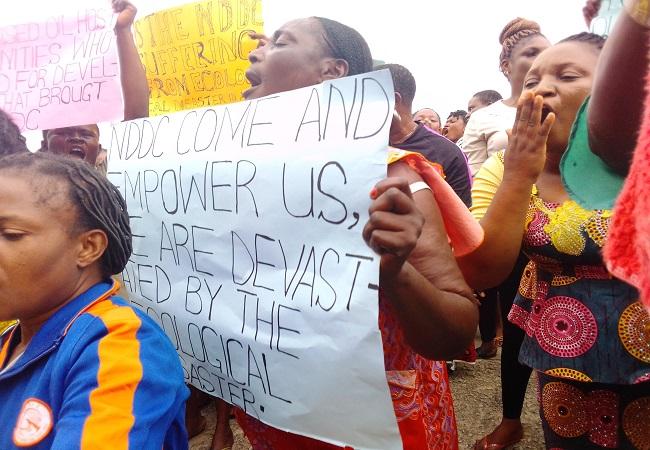 Bayelsa women demand N20bn from FG, NDDC over dead fishes in Atlantic Ocean