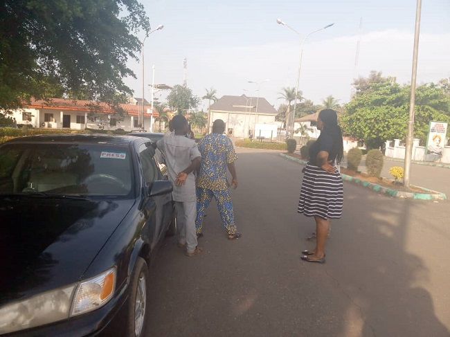 Gov Umahi trapped in government house,
