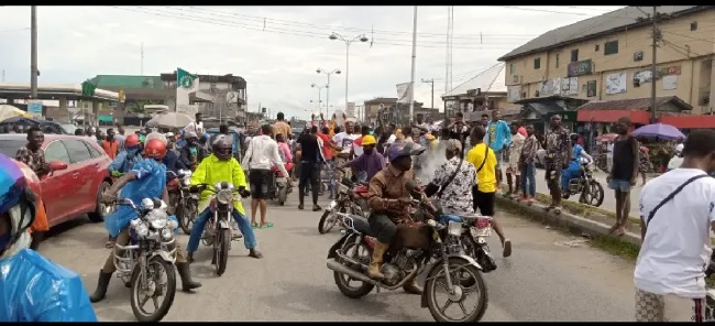 EndSARS protest claims policeman