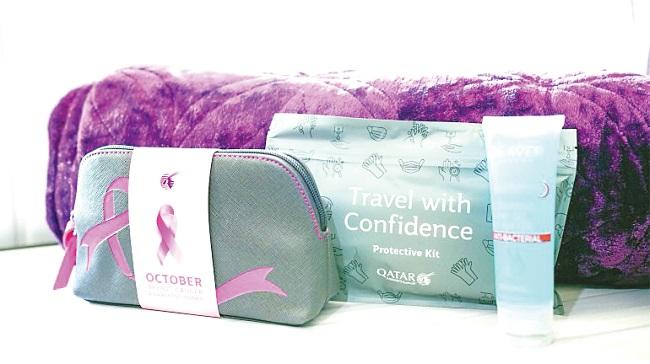 breast cancer, qatar airways