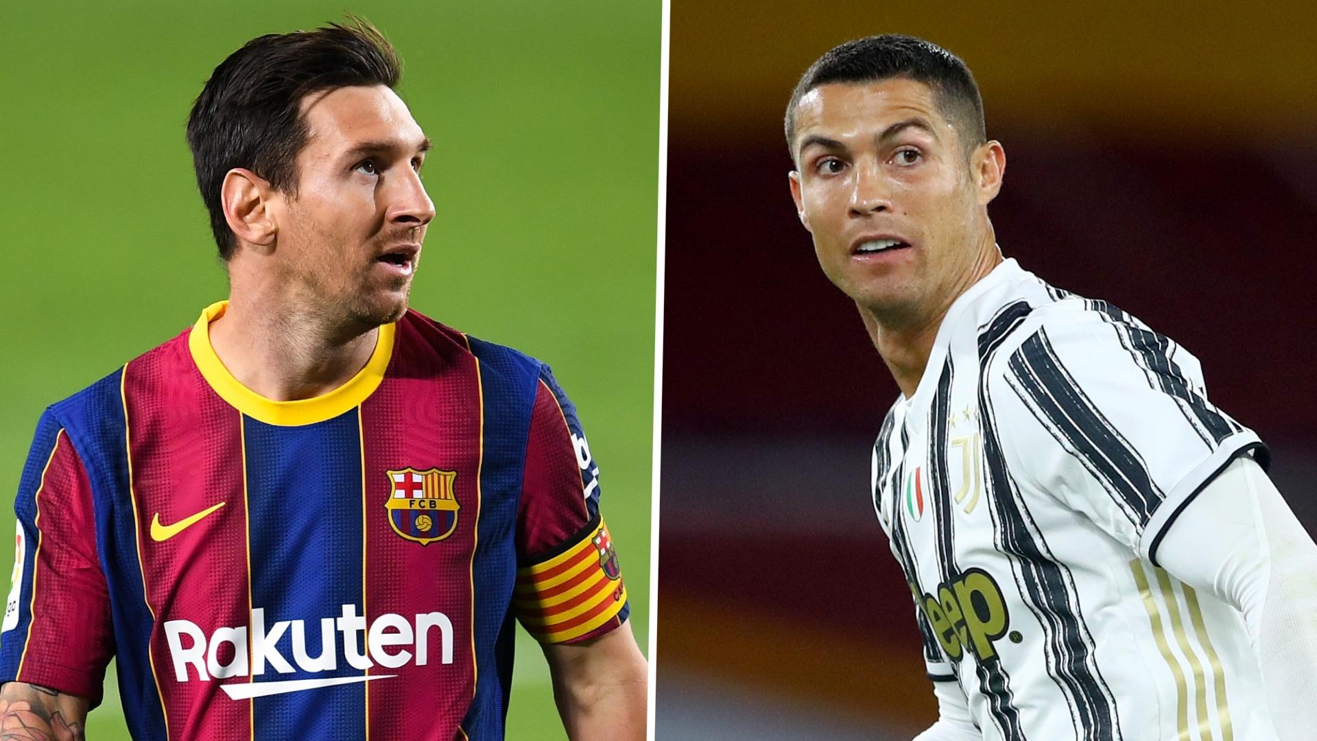 Ronaldo-Messi confrontation