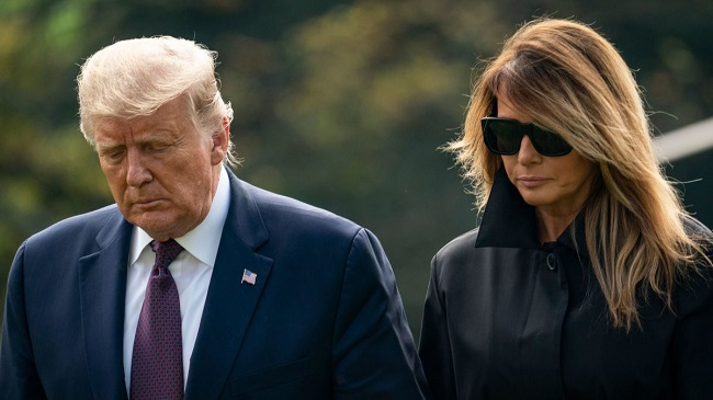 Trump and Melania positive for coronavirus