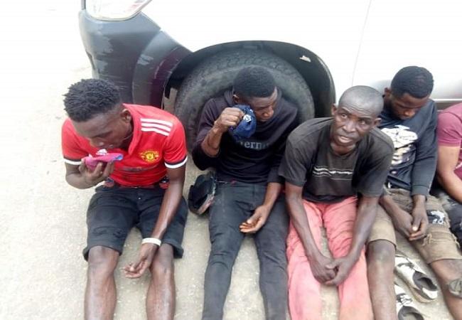 #EndSARS, Rice looters, Benin, police, Edo